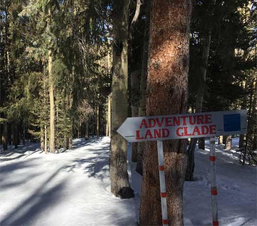 adventure land glades at ski santa fe new mexico