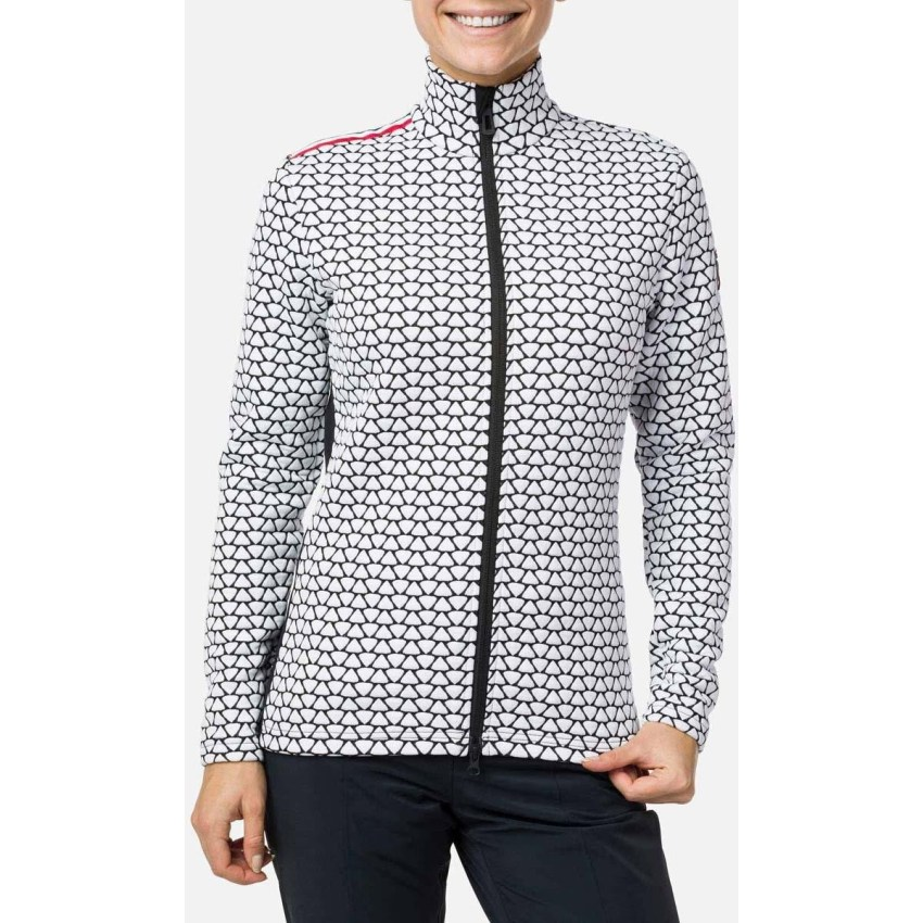 Rossignol full zip layer for spring skiing