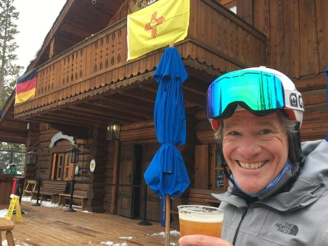 five reasons to ski taos ski valley including beer and lunch at the bavarian