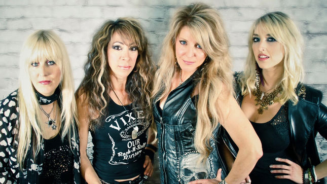 """VIXEN Guitarist BRITT LIGHTNING - """"We've Recorded A New Single, As Well As  An Acoustic Version Of One Of The Classic Hits"""" - BraveWords"""