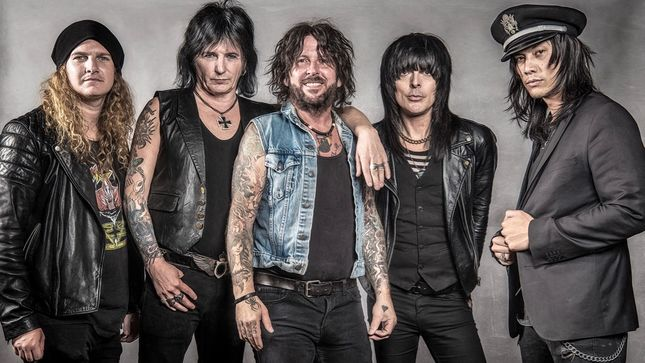 """L.A. GUNS Stream """"No Mercy"""" From Made In Milan DVD / Blu-Ray"""