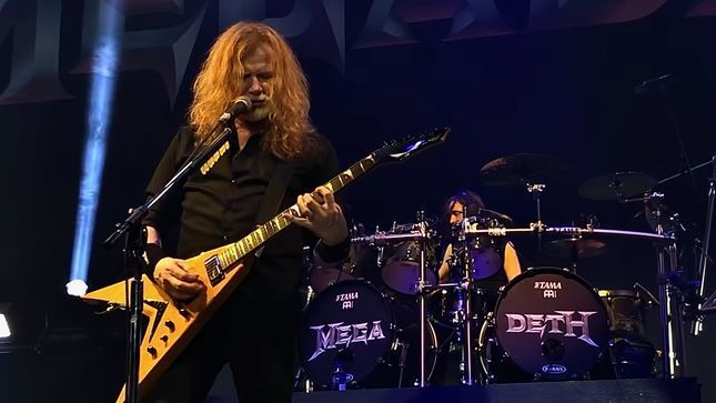 """MEGADETH Frontman DAVE MUSTAINE On His Relationship With SLASH - """"We Had Such A Rebellious Friendship""""; Video"""