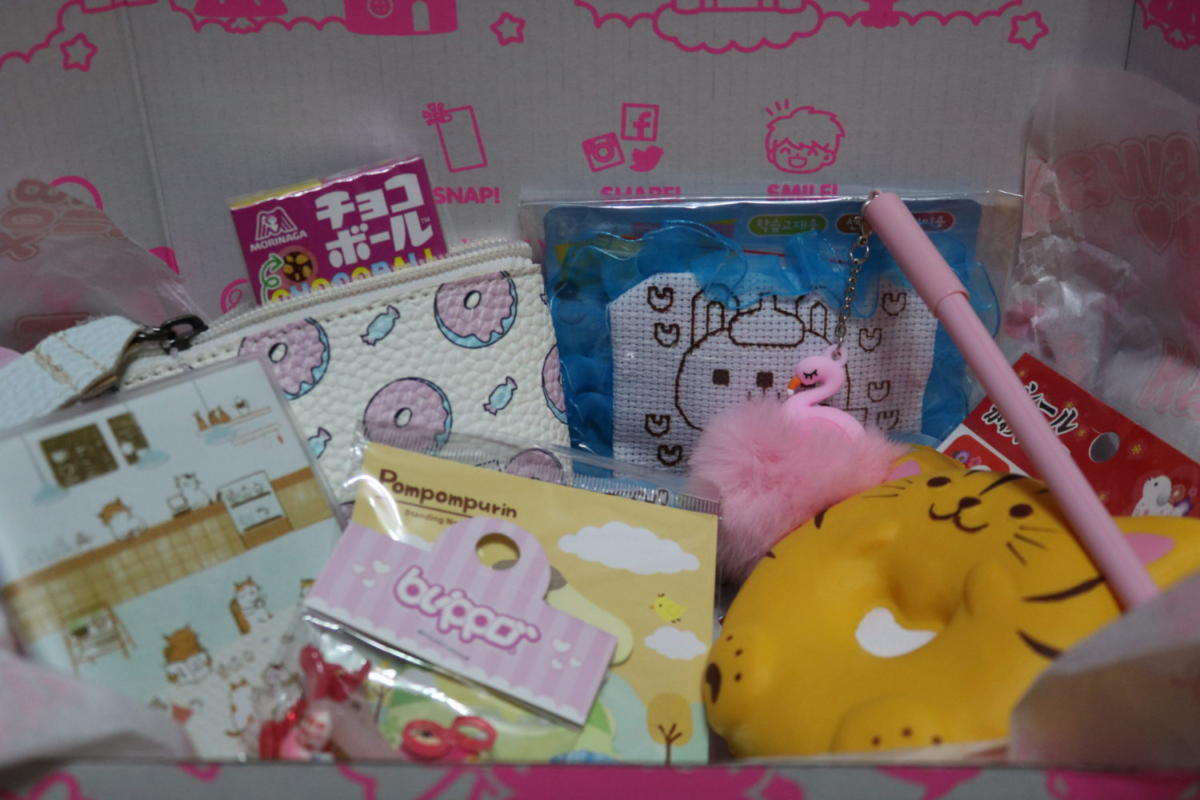 Kawaii box - cutie de subscripție din Japonia