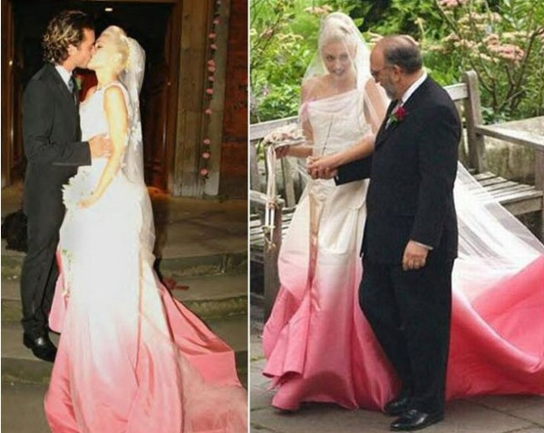 Celebrity Wedding Dresses: The Good & The Bad