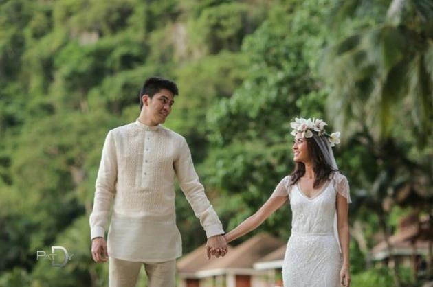 10 PH Celebrity Beach Wedding Inspirations