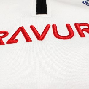 Bravura 3d embroidery on hoodie