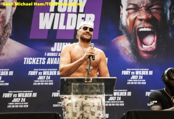 Fury vs Wilder 3 - Press Conference (LA)13