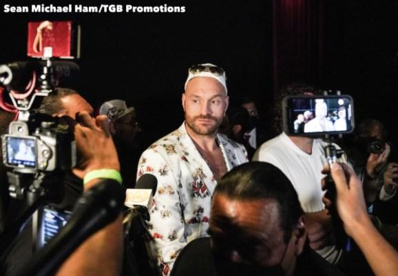 Fury vs Wilder 3 - Press Conference (LA)18