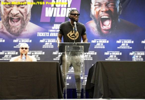 Fury vs Wilder 3 - Press Conference (LA)19