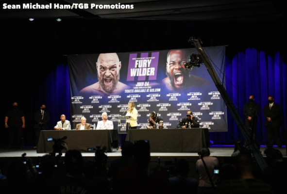Fury vs Wilder 3 - Press Conference (LA)7