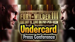 Tyson Fury vs Deontay Wilder