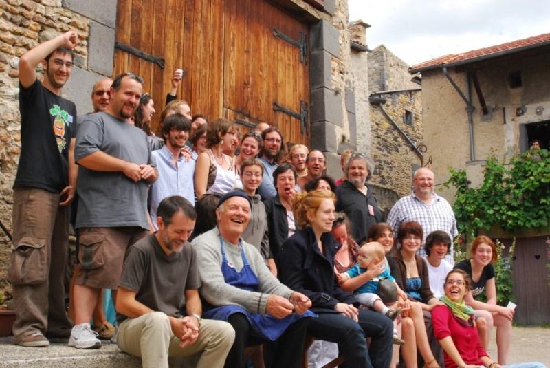 L'équipe de bénévoles aux Volcaniques 2011