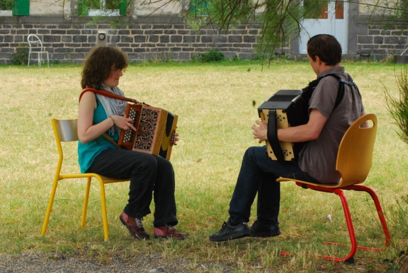 Stage d'accordéon, été 2011