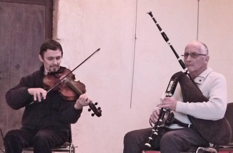Duo Falvards Concert Tourzel 2014