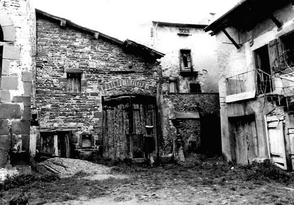 Façade de la grange en 1980