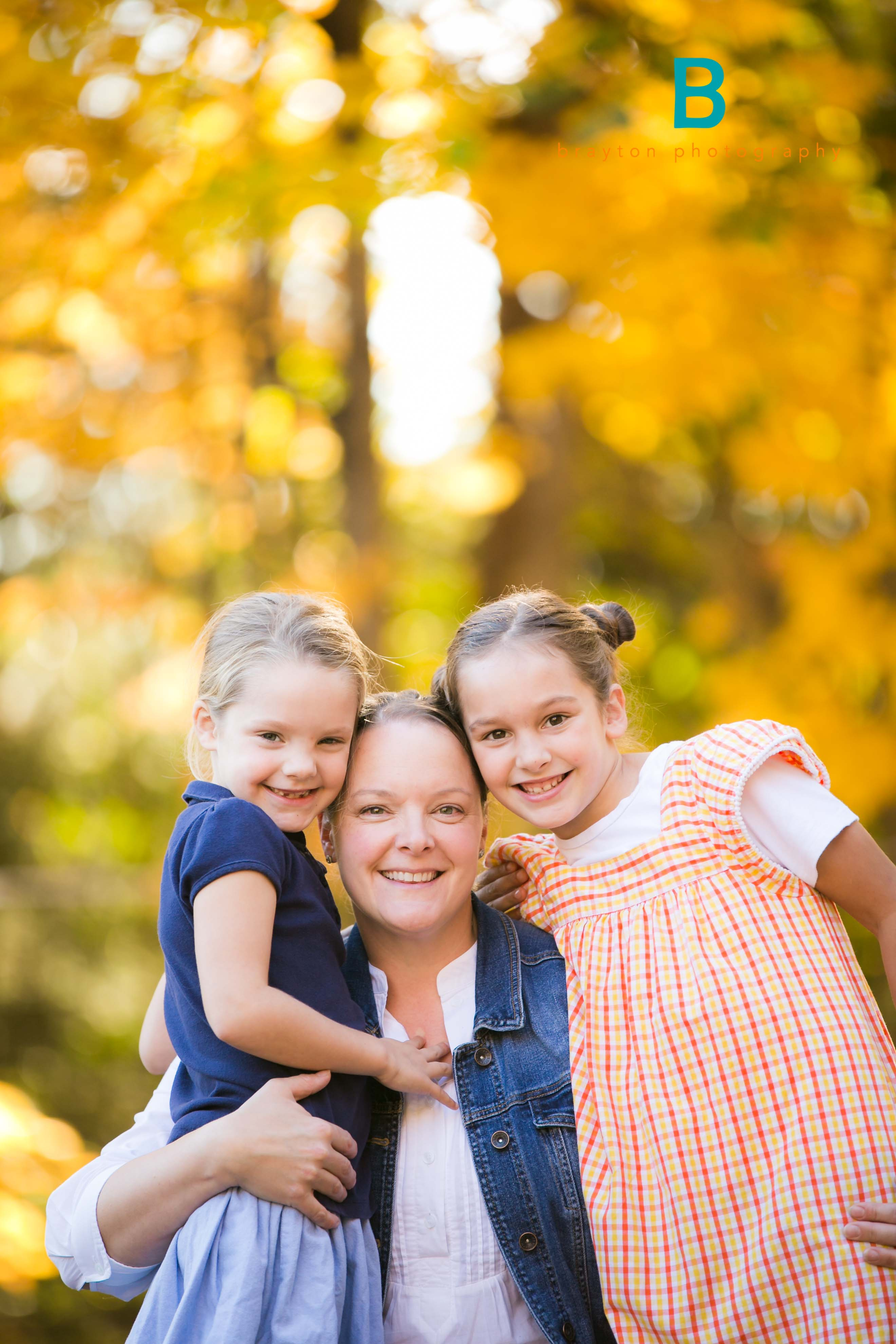 Beautiful Fall Family Session