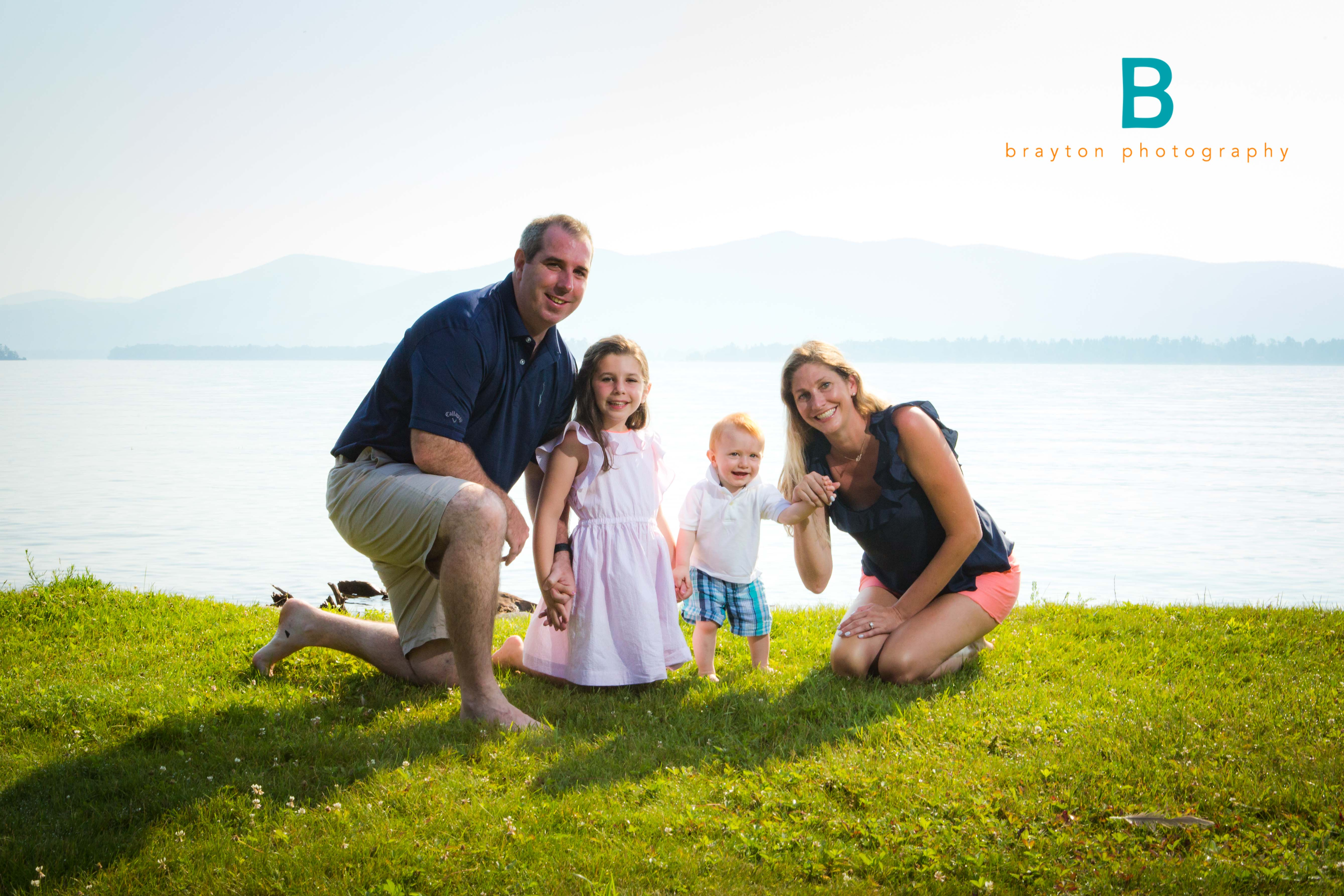 lake george private beach family photogapher