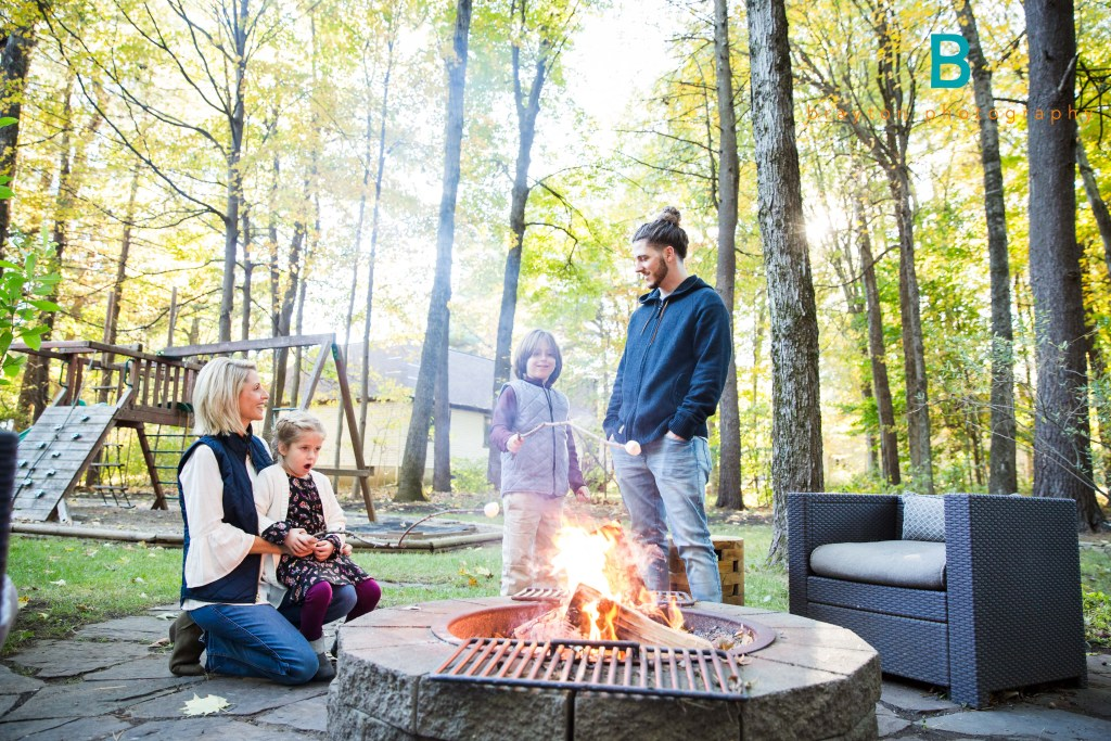 Fall Family Session in Saratoga Springs