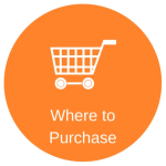 Orange circle with a shopping cart image with the words where to purchase below