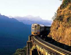 Train Journey through Serra do Mar