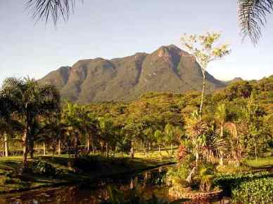 The Marumbi peaks- Serra do Mar range