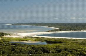 Aerial View of Ilha do Mel- photo by Priscila Forone
