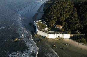 Fortress at Ilha do Mel - photo by Priscila Forone