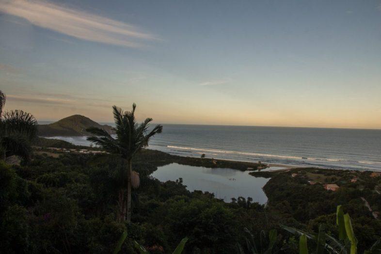 Praia do Rosa at Sunset