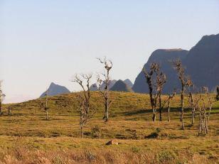 View of Serra Geral Mountains - Serra do Corvo Branco- Santa Catarina