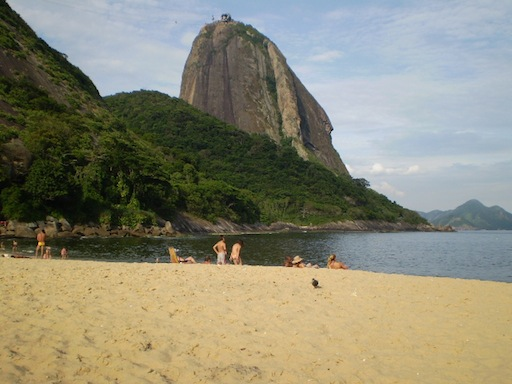 Sugar Loaf from Vermelha beach in Rio de Janeiro by www.brazilfilms.com a film video and stilll production services company