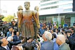 舊金山慰安婦雕像揭幕