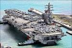 防北韓挑釁 雷根號續留南韓海域