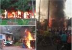 國際新聞 巴西數百暴徒火燒政府建築 抗議趕絕非法淘金