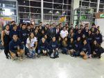 2018年巴西華裔青年觀摩團啓程返回臺灣研習