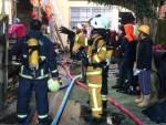 竹山鎮清晨惡火 母子被燒死臥房