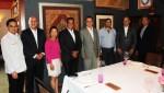 駐巴拉圭周大使麟與巴國中央省長Hugo Javier González餐敘聯誼