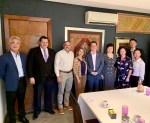 駐巴拉圭大使館與巴國美洲統合大學餐敘聯誼