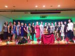 巴西台僑聯誼會慶祝國際三八婦女節大家唱得盡興跳得開心