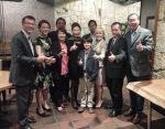 台北經文處張崇哲處長設宴祝賀Damaris Kuo就任聖保羅州議員擴大為民服務