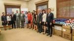 駐巴拉圭大使館代表「幫幫忙基金會」捐贈巴國第一夫人辦公室愛心物資貨櫃乙只