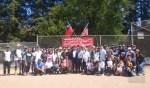 金山灣區華人運動大會壘球比賽 盛大開打