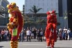 """巴西僑界舉行慶祝新中國70周年華誕及""""中國移民日""""快閃活動"""