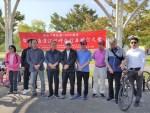 首爾漢江畔自行車健行 韓華慶雙十國慶