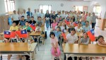 文教中心主任首訪善化中文學校