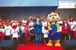 109名元旦寶寶 唱國歌 喜見大國旗