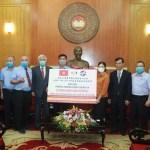越南臺商協助抗疫 捐贈30億越盾防疫經費