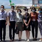 臺商專案包機抵越南 共拚下半年經濟復甦