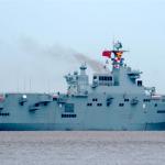 陸075艦首海試 檢測主要系統 最快年內可服役