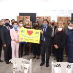 巴西華僑緊急援助志工小組赴塔圖伊市捐贈物資