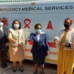 梁大使捐贈抗疫醫療物資予史瓦帝尼政府